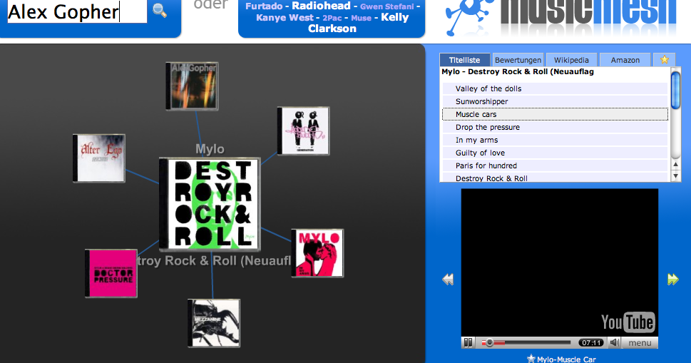 Musicmesh Screenshot